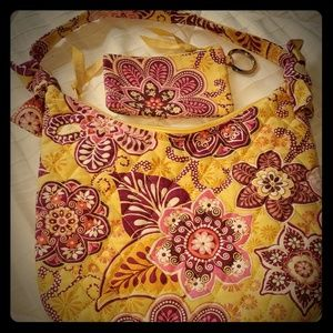 Vera Bradley purse with change purse